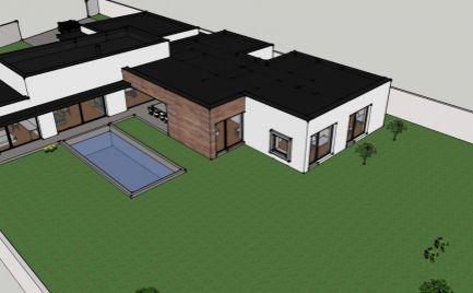 Na predaj exkluzívny 6 izbový rodinný dom v štádiu hrubej stavby ROVINKA