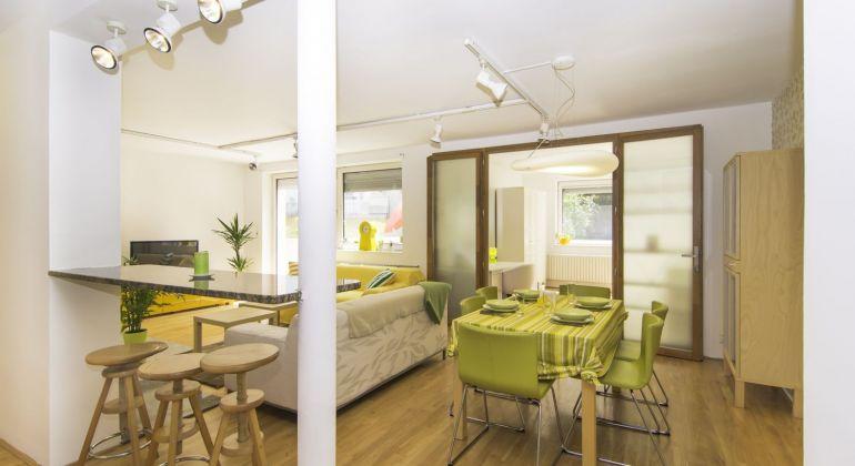 Veľkometrážny 4 izbový byt terasou v Bratislave v Dúbravke - VIDEOPREHLIADKA