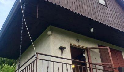 Chatka v kásnom prostredí Malých Karpát- Sološnica