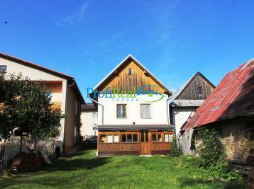 Na predaj rodinný dom v obci Šuňava