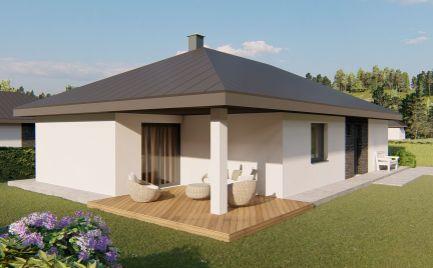NOVOSTAVBA - kompletné siete - 4 izb bungalov