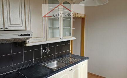 3 izbový byt po čiastočnej rekonštrukcii