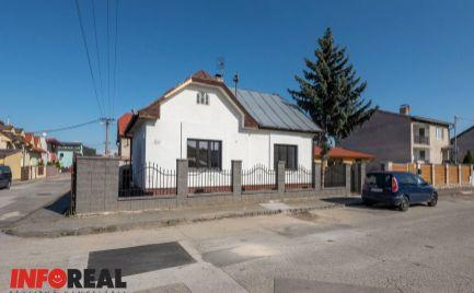 REZERVOVANÉ - Na prenájom rodinný dom 2 izb., 2x garáž, OMSKÁ – Košice JUH