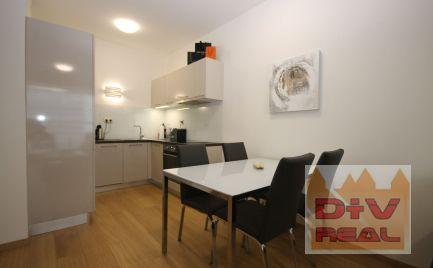 D+V real ponúka na prenájom: 2 izbový byt, Landererova ulica, Panorama city, Bratislava I, Staré Mesto, zariadený, parkovanie
