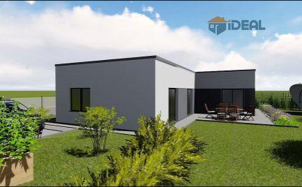 novostavba 4-izbový rodinný dom, Záhradné