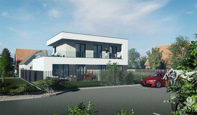 SORTier s.r.o. PREDAJ novostavby bytov v kľudnej časti v obci Kúty.