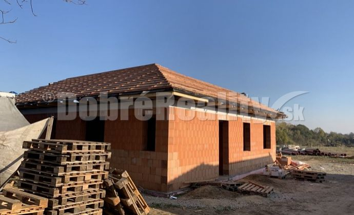 REZERVOVANÉ!!!Novostavba  dom na kľúč  v obci Beladice, Pod Orechami