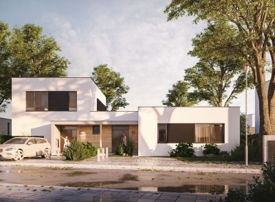 Rezidencia Brečtanová: 4 izbový bungalov typu B