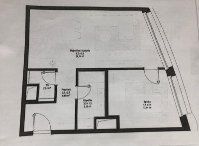 SKY PARK  by Zaha Hadid 2 izbový byt na predaj