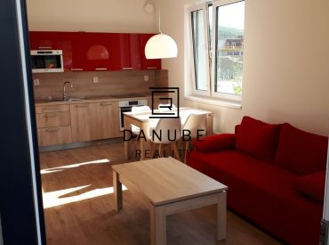 Prenájom kompletne zariadený 2-izbový byt 55 m2, v novostavbe na ulici Hany Ponickej, Bratislava - časť Bory.
