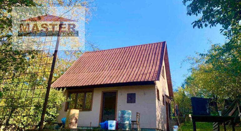 Na predaj chata -novostavba Šípkov, pozemok 736m2