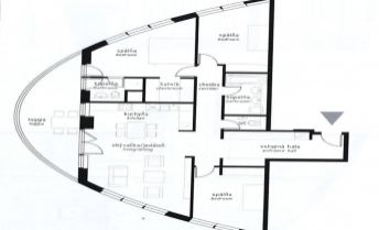 4 izbový byt, TRI VEŽE, vrátane parkovacieho státia