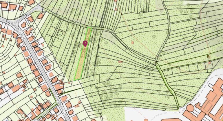 Pozemok pre výstavbu v Bratislave - m.č. Lamač