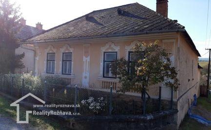 Rodinný dom - Chalupa Hrušov