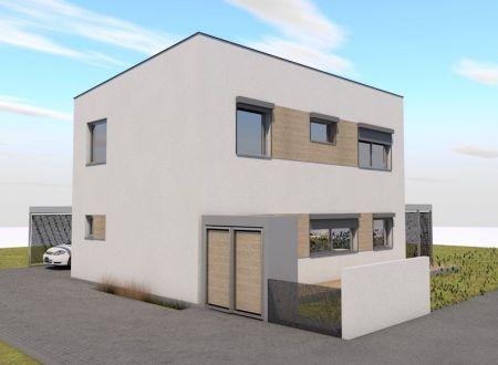 Nový 5 izbový rodinný dom P13-A5-Š / Sokolovce