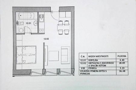 IMPEREAL - predaj, 2-izbový byt v Devínskej Novej Vsi, Bratislava