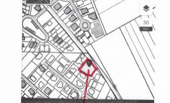 Na predaj pozemok pre výstavbu rodinného domu MALINOVO , 665 m2, všetky siete