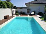 Malinovo - Ponúkame nádherný 4 izbový bungalov s bazénom na krásnom pozemku