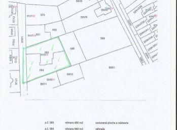 Pozemok vhodný pre výstavbu dvoch RD