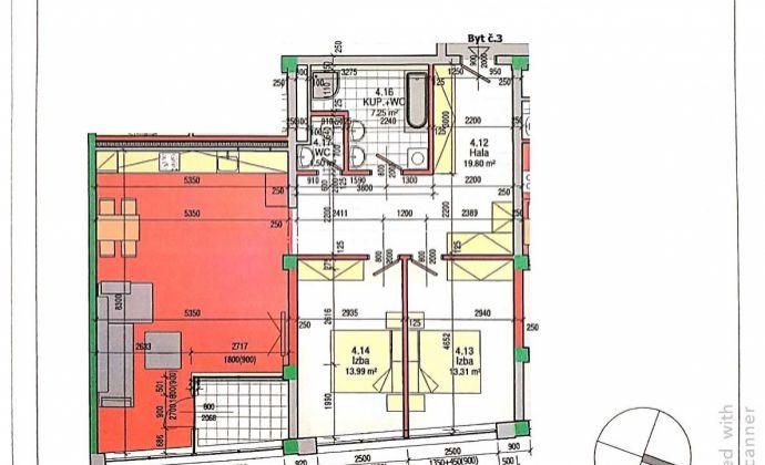 BA II., Ružinov, 3-izbový novo zrekonštruovaný byt na rohu Trnavskej cesty a Tomášikovej ulice