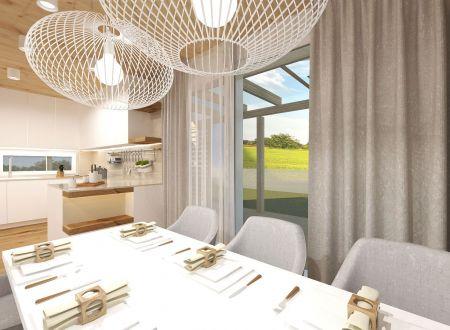 Nový 5 izbový rodinný dom P3-A1-H / Sokolovce