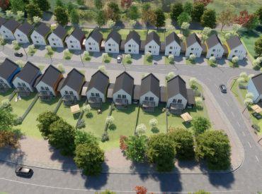 Exkluzívne - 5 izbové novostavby rodinných domov pri Vrbovom už od 127.722 EUR