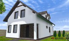 ASTER výstavba: 4-izb. murovaný rodinný dom, úžitková plocha 147m2, pozemok 628m2