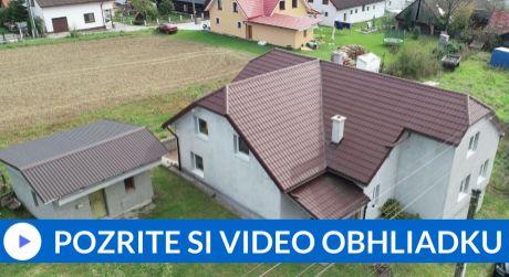 EXKLUZÍVNE Rodinný dom s garážou a záhradným domom - Zubrohlava