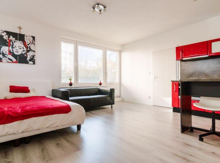 REZERVOVANÉ - VRAKUNSKÁ, 1-i byt, 40 m2 - NOVOSTAVBA, fitness centrá, KAVIAREŇ na prízemí, výborný parking, ŠATNÍK