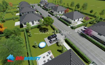 VEĽKÉ CHLIEVANY –  11 novostavieb rodinných domov / pozemky od 518 m2 / okres Bánovce nad Bebravou