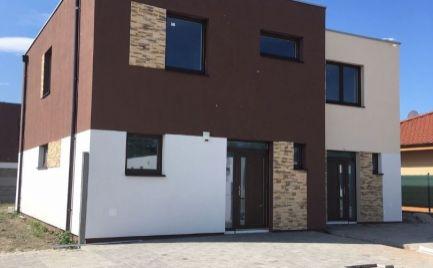 Komfortné 4 izb rodinné dvojdomy v novej časti obce Hrubá Borša - Model B