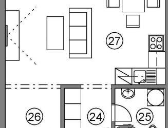 1 izbový byt na predaj P_H, v novom projekte