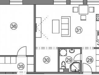 1 izbový byt P_I, v novom projekte