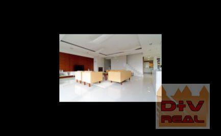 D+V real ponúka na prenájom: 4 izbový byt, Vincenta Hložníka, Condominium Renaissance, Bratislava IV, Dlhé Diely,  nezariadený, parkovanie pre 3 autá, veľká záhrada 220m2