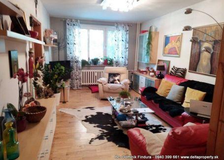 DELTA - Slnečný 3-izbový byt s loggiou na predaj Poprad - Západ - TOP LOKALITA!