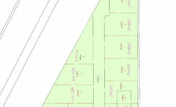 Stavebný pozemok 647 m2 na rodinný dom v obci Réca, južná orientácia