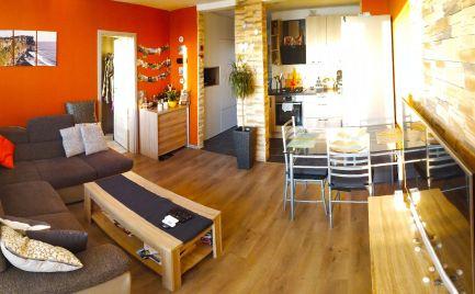Krásny novozrekonštruovaný a komplet zariadený 3 izbový byt v Bratislave - Petržalka - Romanova ul.