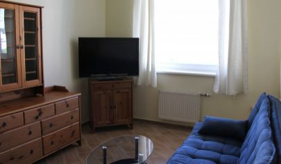 For rent: nice 1-bedroom apartment in Bratislava city center, excellent location.