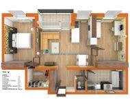 Nenechajte si újsť zarezervovať si pre Vás ideálný 3 izbový byt v novostavbe za najlepšiu cenu okrese v Dunajskej Strede