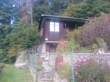 Predaj záhradky s chatkou  v Tepličke nad Váhom na Dubni cena 22 000 Eur