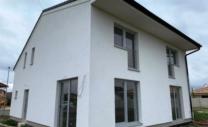 NOVOSTAVBA 5izb. rodinný dom (172 m2), na pozemku 508m2, nová rezidenčná štvrť - Podunajská brána, BA II