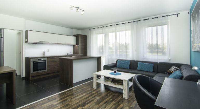 Krásny 2 izbový byt v novostavbe s veľkou predzáhradkou