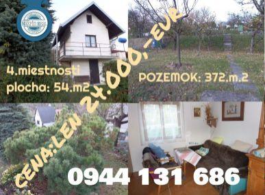 Osuské-Opendáky/okres Senica-1.podlažná chata s pozemkom 372.m2-EXKLUZÍVNE LEN MAXFINREAL