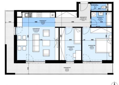 PREDANÉ | 3 izb. byt v štandarde, Slnečnice Zóna Mesto
