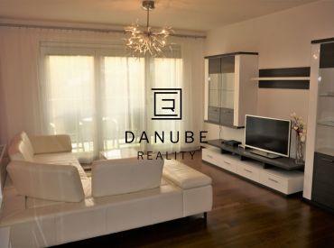 Prenájom 2 - izbového bytu v novostavbe na Frankovskej ulici, Bratislava - Nové Mesto.