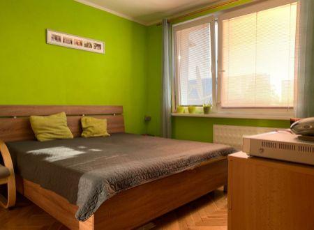 1 izbový byt  Topoľčany zariadený / VYPLATENA ZALOHA