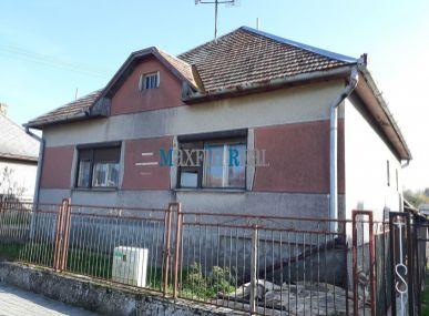 MAXFIN REAL – na predaj rodinný dom vobci Veľká Ves nad Ipľom
