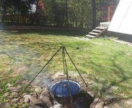 Chata s vodou a elektrikou  v blízkosti priehrady, Zvolen Môťová