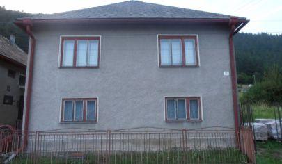 ŠVOŠOV 5 izbový rodinný dom na poz. 345m2, okr.Ružomberok
