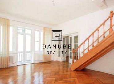 Prenájom 6 - izbového mezonetového bytu na Somolického ulici, Bratislava - Staré Mesto.